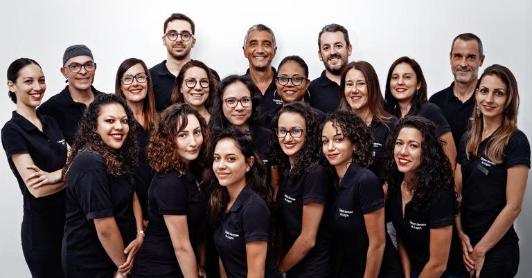 L'équipe du Cabinet dentaire et d'orthodontie du lagon