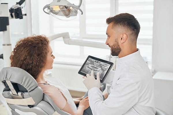 Radiographie au Cabinet dentaire et d'orthodontie du lagon